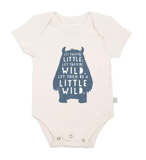 Finn + Emma Graphic Bodysuit - Wild Child