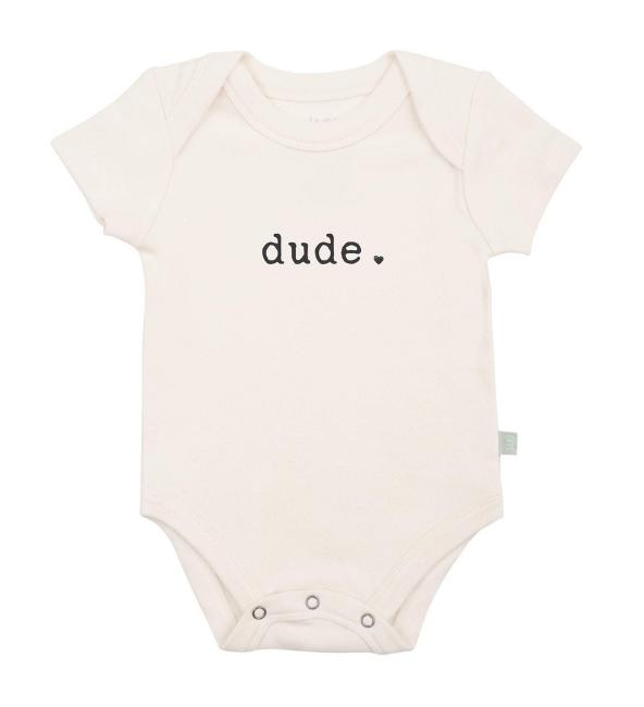 Finn + Emma Graphic Bodysuit - Dude