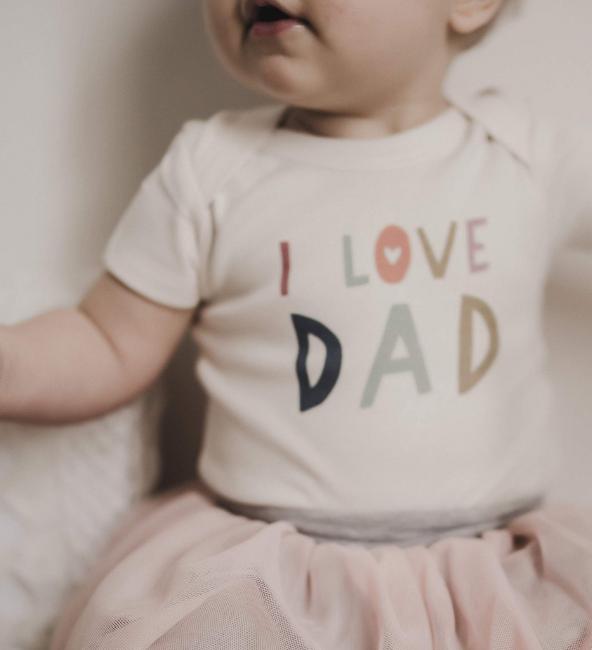 Finn + Emma Graphic Bodysuit - Love Dad