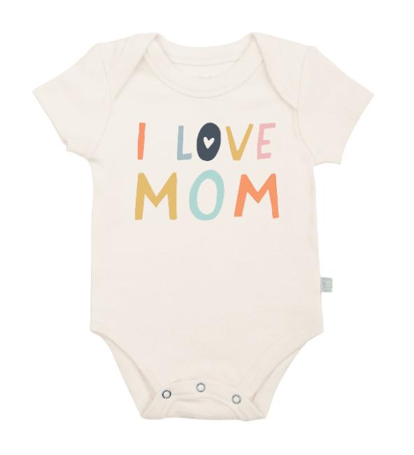 Finn + Emma Graphic Bodysuit - Love Mom