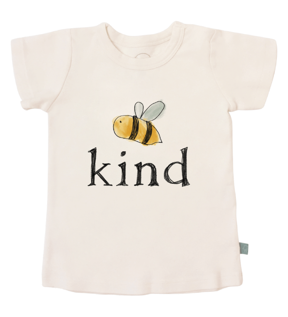 Finn + Emma Toddler Graphic Tee - Bumble Bee