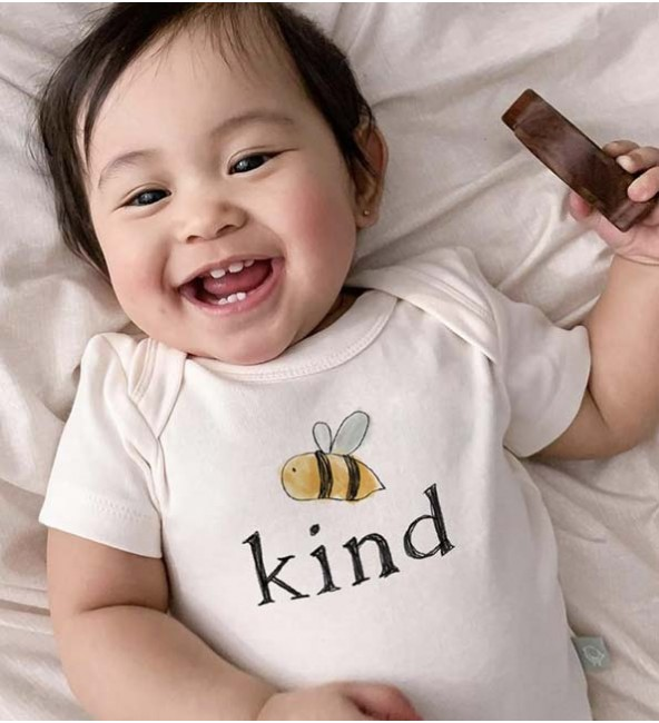 Graphic Bodysuit - Bumble Bee