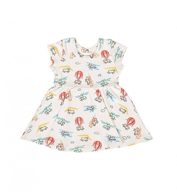 Twirl Dress - Flying Pigs