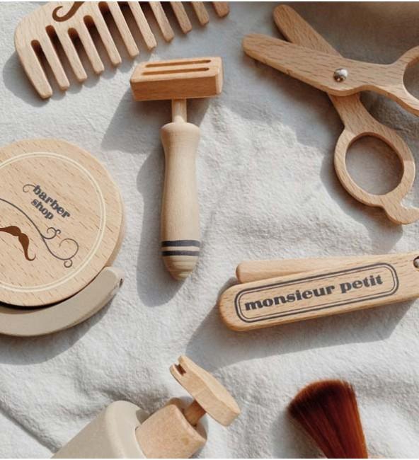 Konges Sløjd Wooden Barber Set