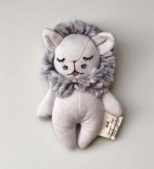 Konges Sløjd Grey Mini Lion