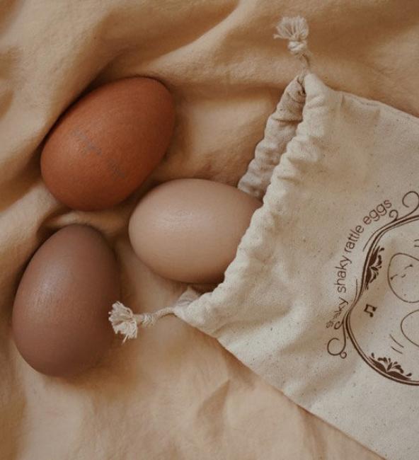 Konges Sløjd Rattle Eggs