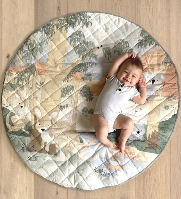 Playmat & Tummy Time Pillow