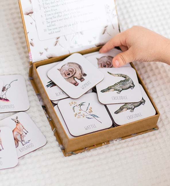 Modern Monty Memory Card Game - Australia