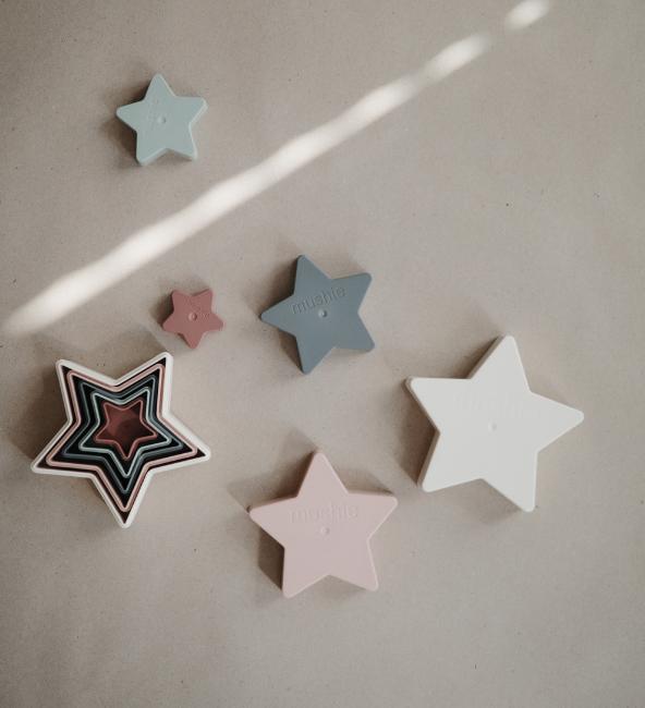 Mushie Nesting Star Toy