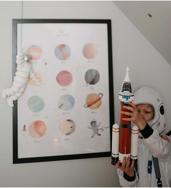 Mushie Space Poster
