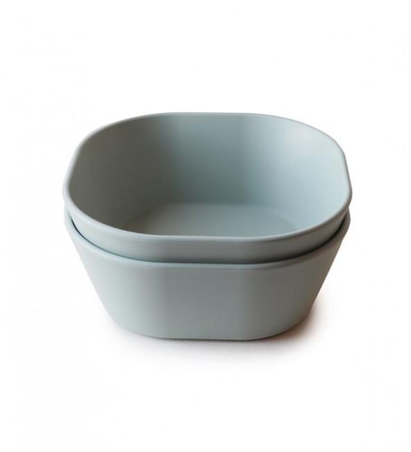 Mushie Square Bowl (Set of 2)