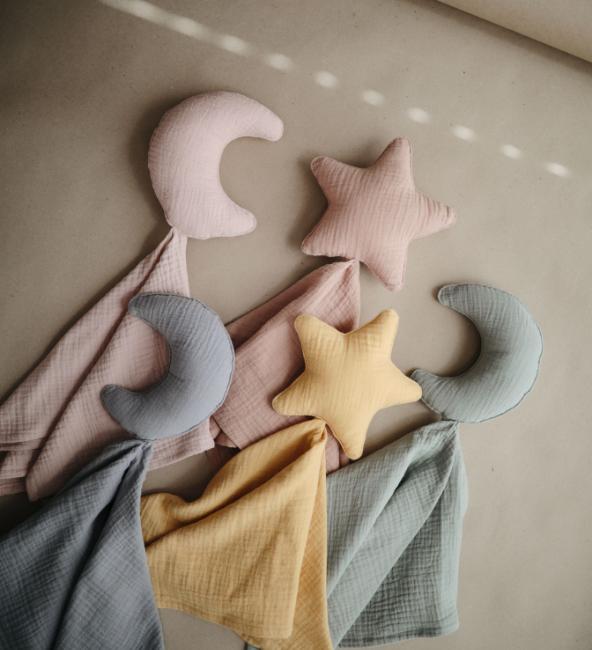 Mushie Baby Lovey Blanket