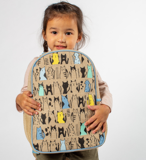 Curious Cat Toddler Backpack