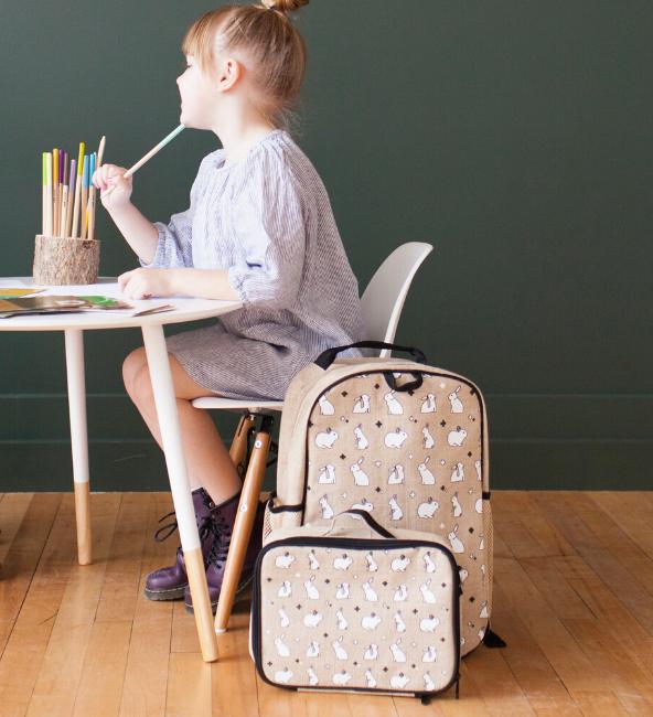 Bunny Tile Toddler Backpack