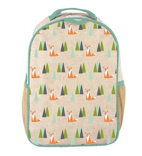 Olive Fox Toddler Backpack