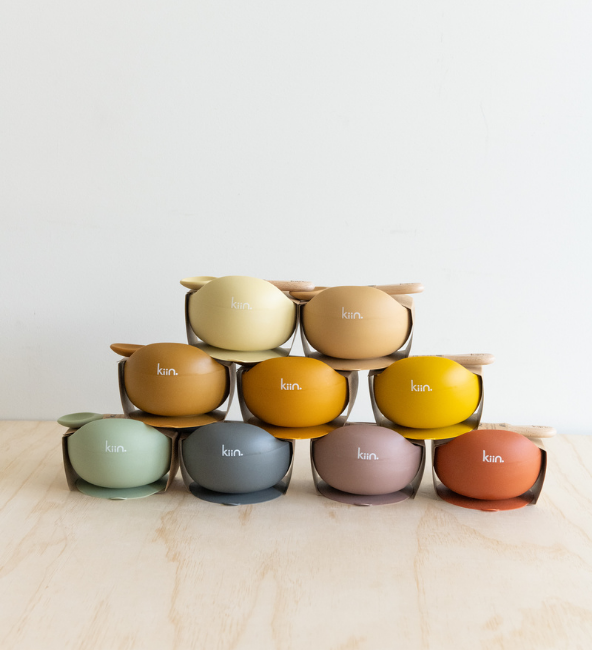 Silicone Bowl with Spoon