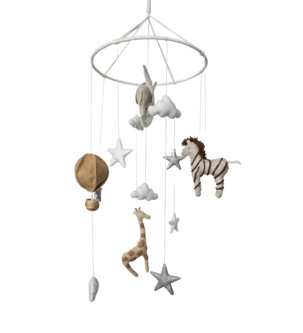 The Wild Life Crib Mobile