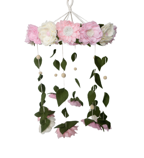 A Walk In The Garden Crib Mobile