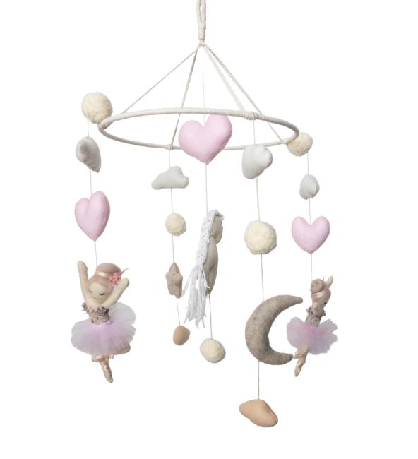 Dancing Ballerina Crib Mobile