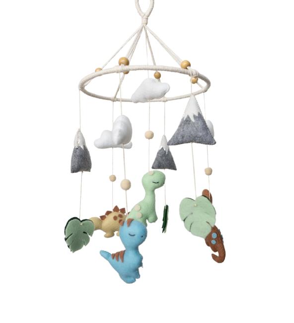Dino Land Crib Mobile