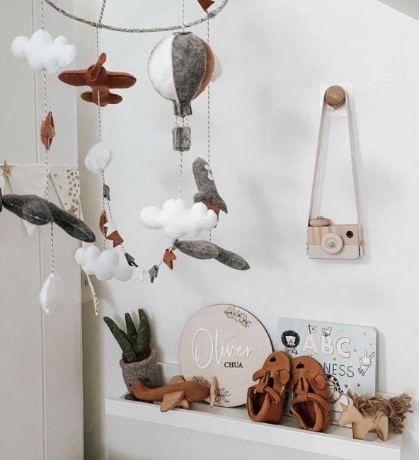 Fly Away Crib Mobile