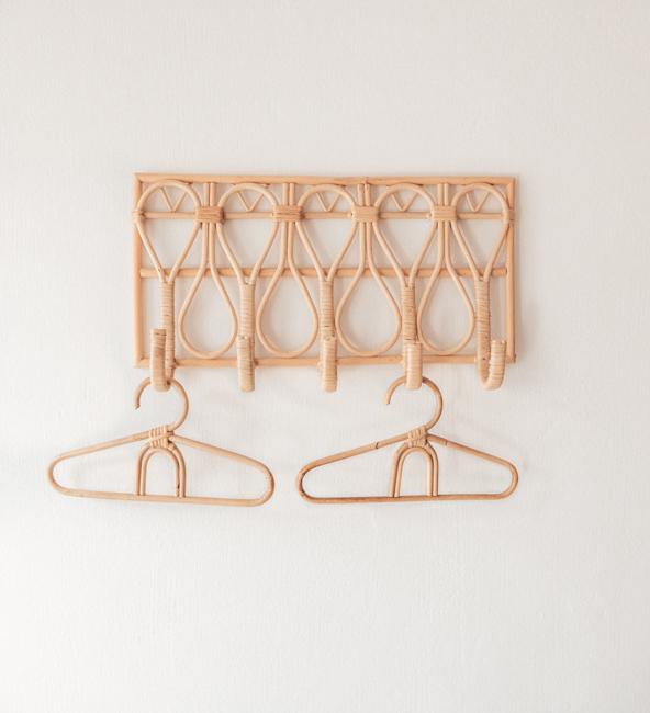 Rattan Rainbow Hangers