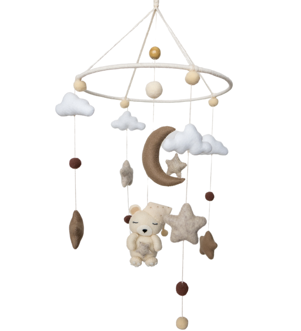 Sleepy Teddy Crib Mobile