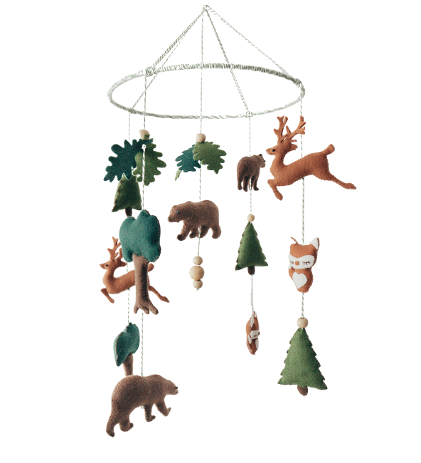 Woodland Crib Mobile