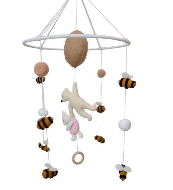 Pooh Crib Mobile