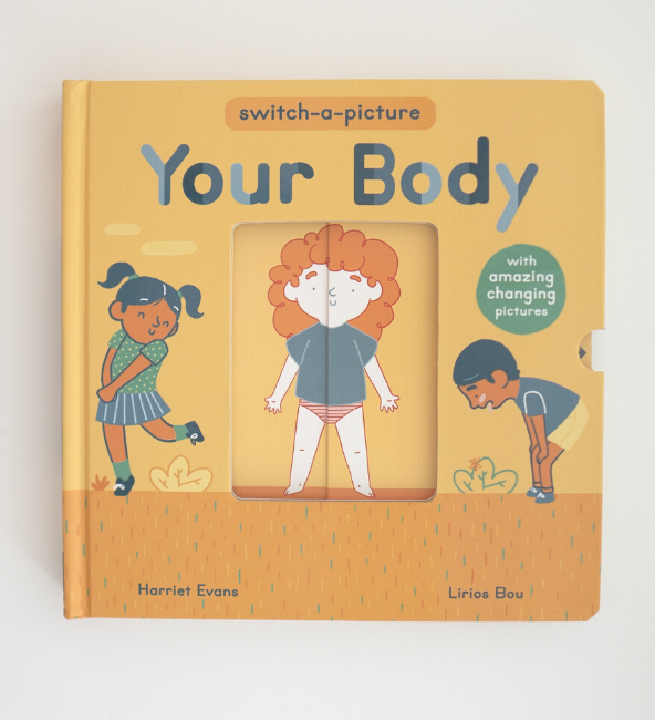 Your Body Switch-A-Picture Book