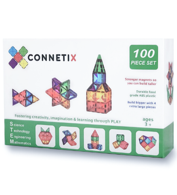 Connetix Tiles | 100 Piece Set