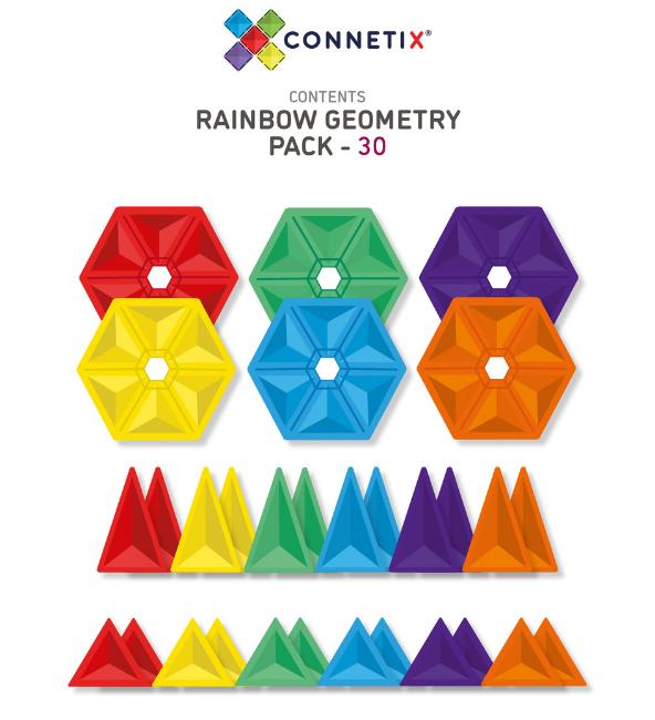 Connetix Tiles | 30 Piece Geometry Set