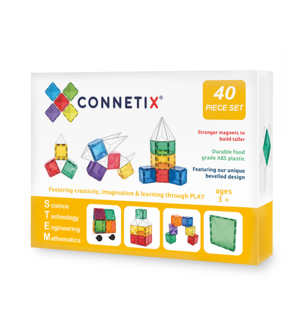 Connetix Tiles | 40 Piece Set