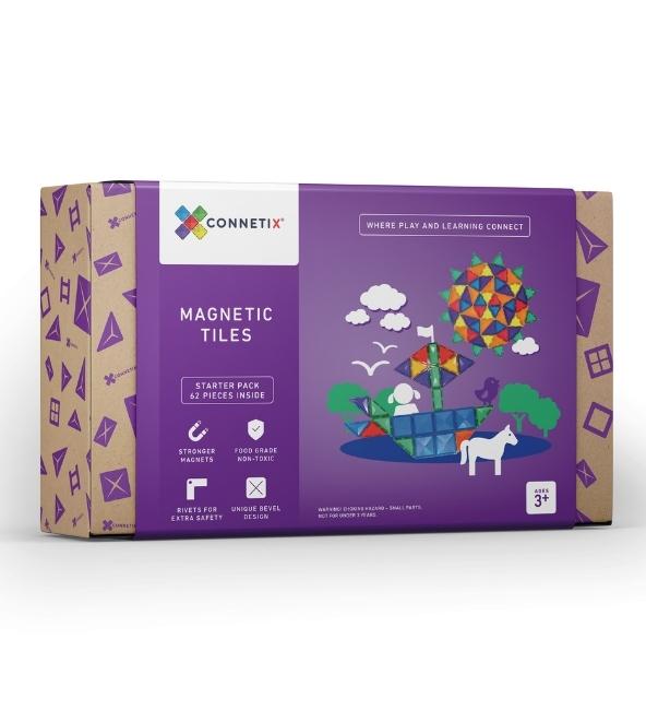 Connetix Tiles | 62 Piece Set