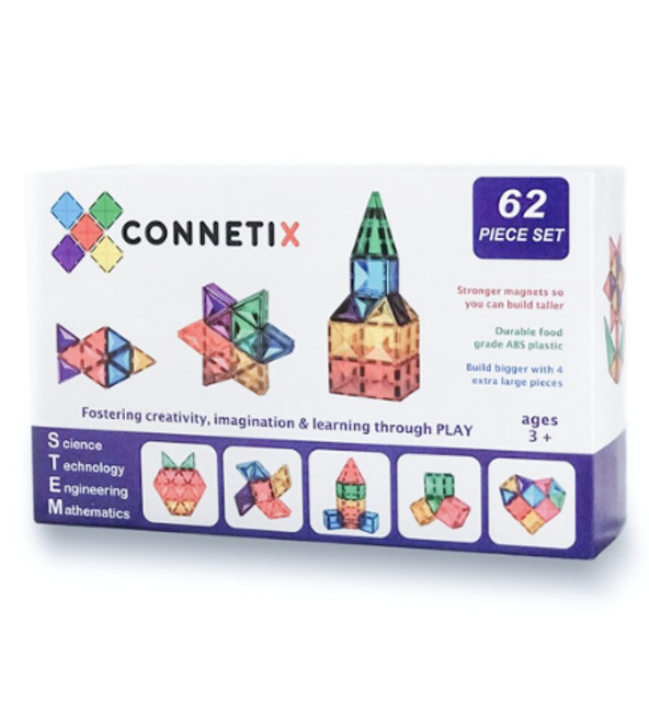 Connetix Tiles | 62 Piece Set