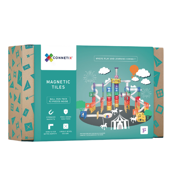 Connetix Tiles | Ball Run Set
