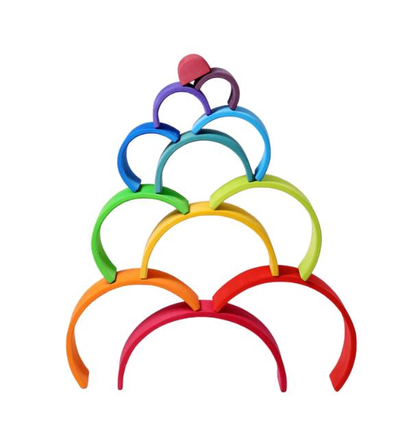 GRIMM'S 12 Piece Rainbow, Large