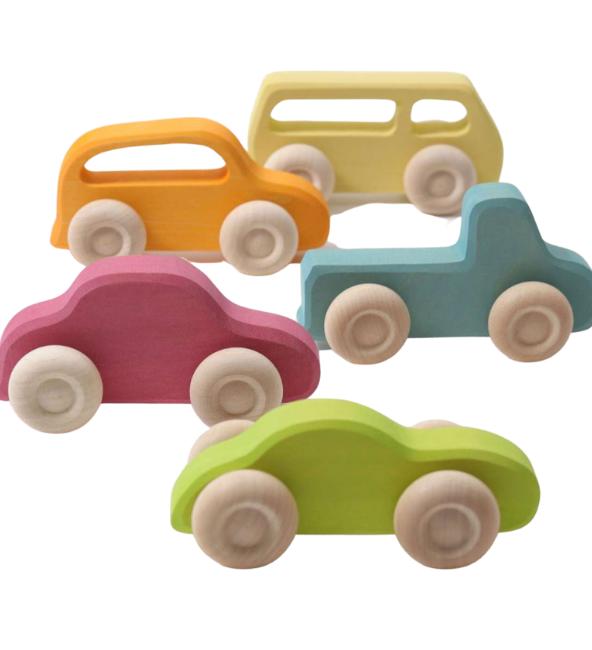 GRIMM'S Wooden Cars Slimline