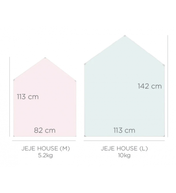 (Bundle Set) Momsboard - Jeje House + Connetix Tiles - 100 Piece Set