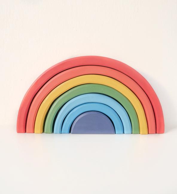 Wooden Rainbow - Playful