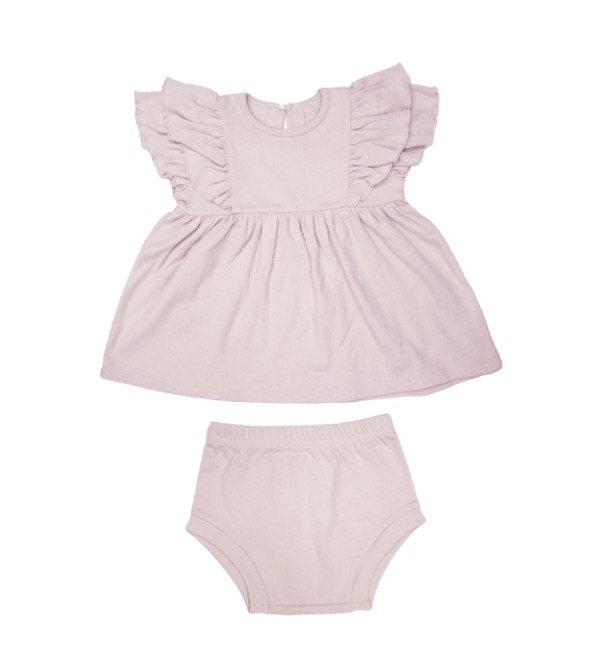 Ruffle Dress & Bloomers