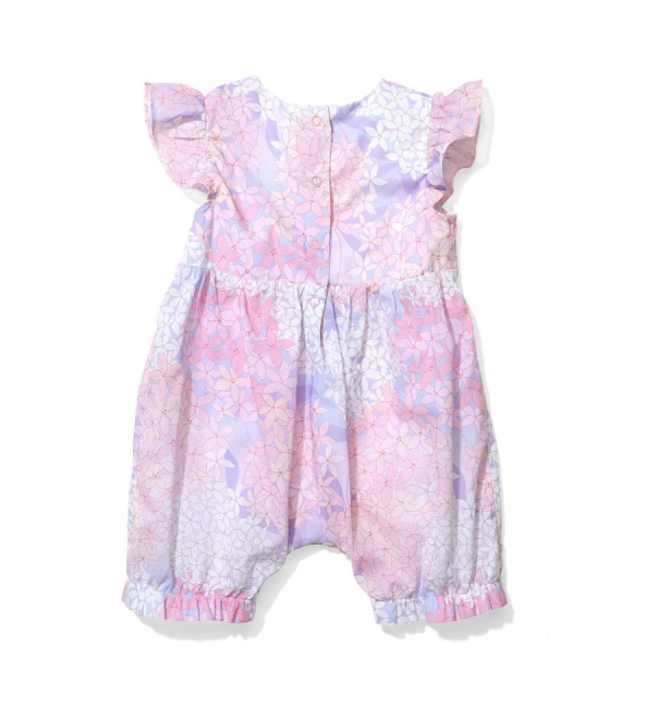 Bubble Romper Lilac
