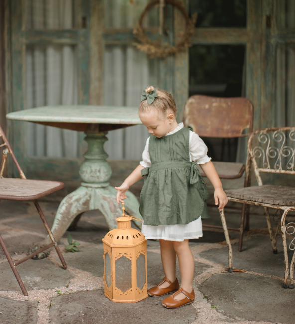 Anne Pinafore Dress