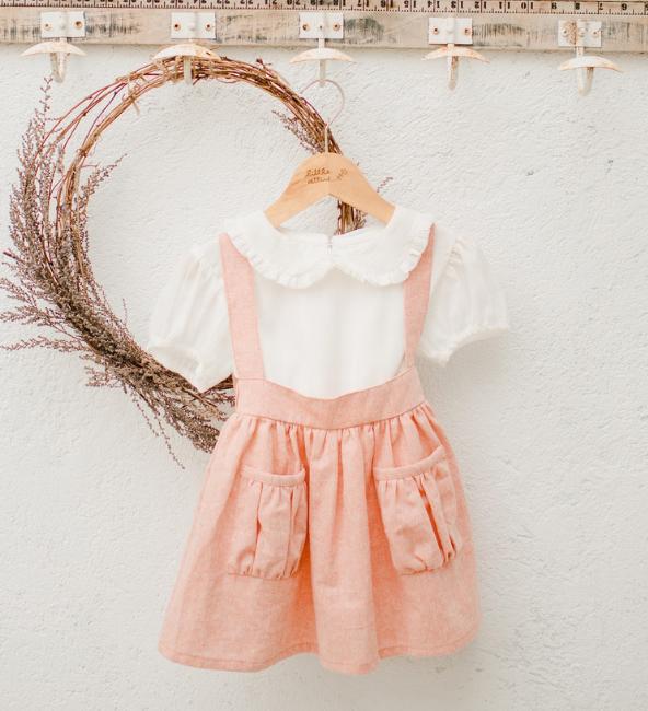 Natalie Pinafore Skirt