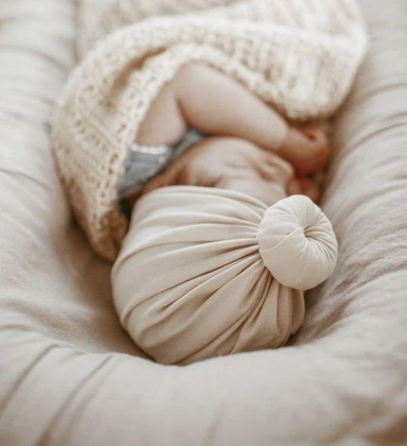 Cream Beige Turban