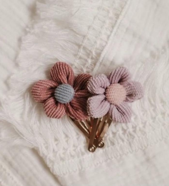 Lola Flower Clip Set